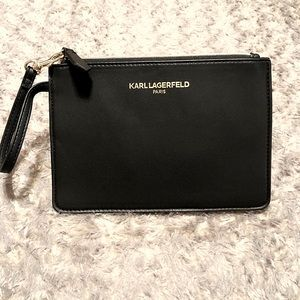 Karl Lagerfeld clutch paid $120 NWOT! Classic
